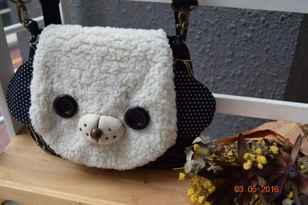 Cutie Dog Handbag Sewing Class In Kelana Jaya